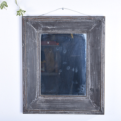 Wholesale Antique Handmade Reclaimed Wood Wall Mirror For Home Decoration