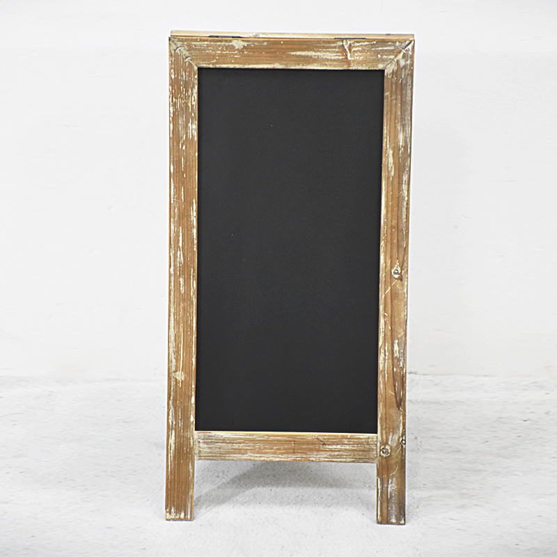 Handmade A Frame Vintage Wood Chalkboard for Wedding Ideas