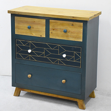 Vintage Furniutre Hand Made Antique Woodne Chest of Drawers.