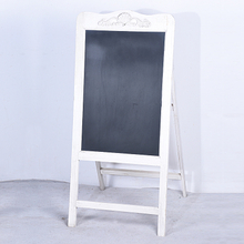 wholesale Wood A Standing Folding Shabby Chic Framed Chalkboard