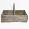 Shabby Chic French Country Farmhouse Décor Wooden Basket
