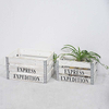 Wholesale Cheap Rustic White Wash Wooden Crates