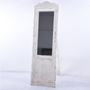 Wholesale French Shabby Chic Vintage Large White Wooden Floor Mirror