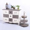 Antique Vintage Retro Style Wooden Furniture Cabinet
