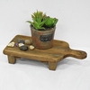 Vintage Farmhouse Cheese Board Decoratiive Flower Stand