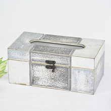 Shabby Chic Rustic Style Handmade Wooden Box for Napkins
