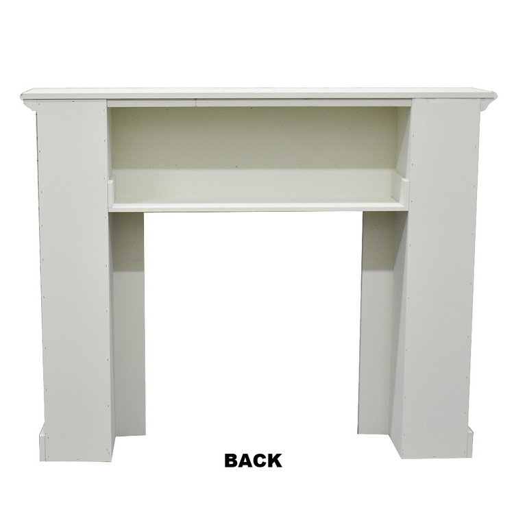 Luckywind New Design Antique Wood MDF Fireplace Mantel Surround