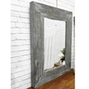 Factory Direct Selling Rustic Rectangular Shaped Wall Mirrors,Home Decoration Mirror Decor Wall